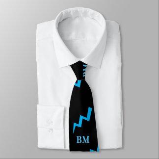 Corbatas Huelga azul del aligeramiento del lazo del