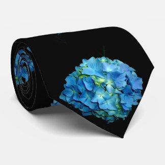 Corbatas Hydrangea azul