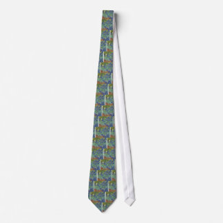 Corbatas Iris azules