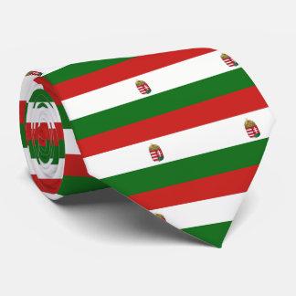 Corbatas La bandera de Hungría