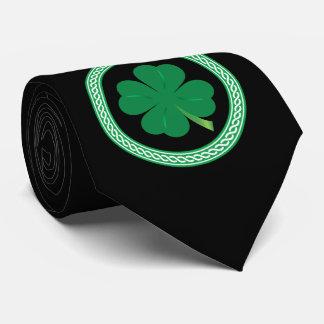 Corbatas Lazo céltico del trébol del día de St Patrick