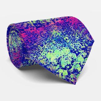 Corbatas Lazo de la púrpura y del verde para los que se