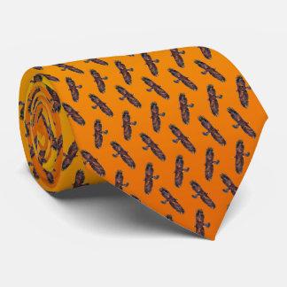 Corbatas Lazo del frenesí de Eagle de oro