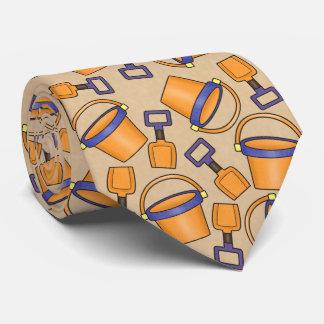 Corbatas Lazo del modelo del cubo de la playa de la