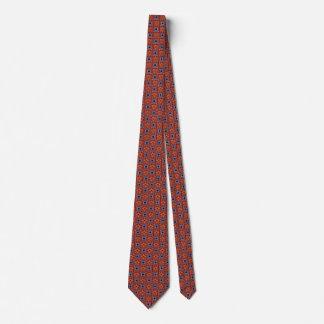 Corbatas Lazo geométrico simple en rojo