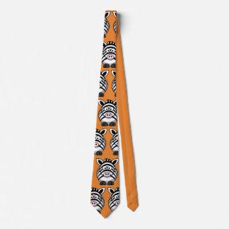 Corbatas Lazo lindo del fiesta de la cebra del personalizar