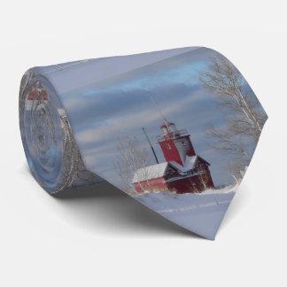 Corbatas Lazo rojo grande