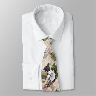Corbatas Magnolia elegante del vintage del señor meridional