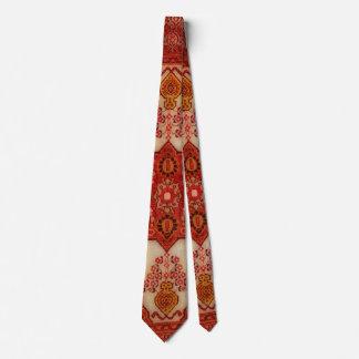Corbatas Mirada de la alfombra persa en el color de cobre