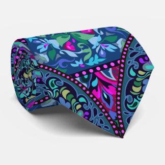 Corbatas Modelo bohemio brillante de la moda del hippy de