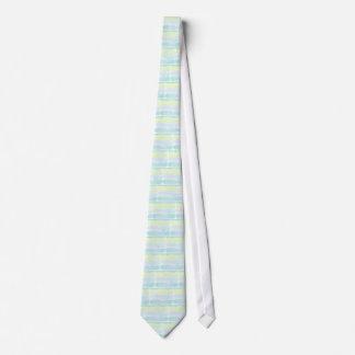Corbatas Muchacho de Azur del verde azul de la acuarela