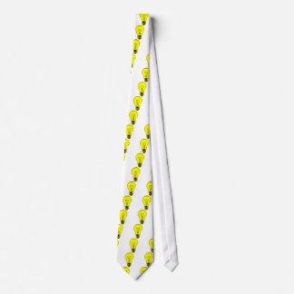 Corbatas Personalizadas Bombilla brillante