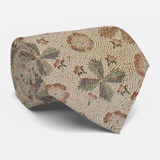 Corbatas Personalizadas Brown entona el suelo de baldosas del mosaico de