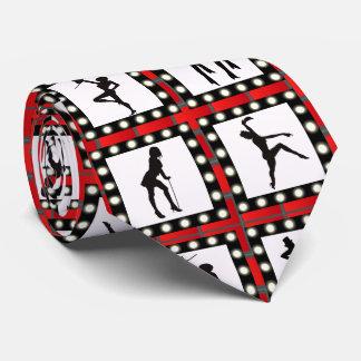Corbatas Personalizadas Coristas del cabaret de la danza que bailan la