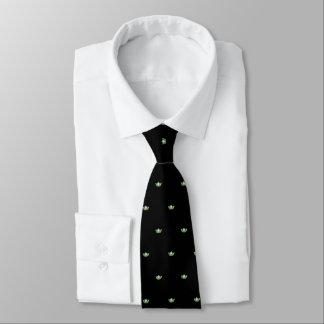 Corbatas Personalizadas El lazo de los hombres verdes de la corona de