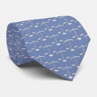 Corbatas Personalizadas Escalas con clase de la ley del modelo el   de la