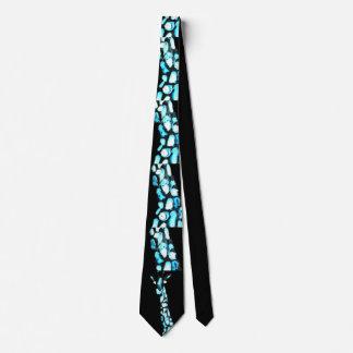 Corbatas Personalizadas Estampado de animales abstracto divertido de la