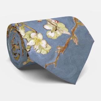 Corbatas Personalizadas Flor de la almendra de Van Gogh