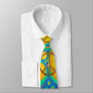 Corbatas Personalizadas hippy de Psychadelic del surco de los años 60