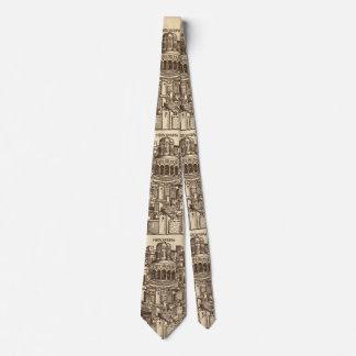 Corbatas Personalizadas Jerusalén, grabar en madera medieval