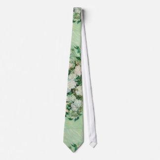 Corbatas Personalizadas Lazo de los rosas de Van Gogh