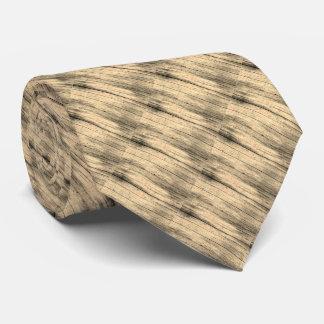 Corbatas Personalizadas Lazo de madera gráfico fresco del arte