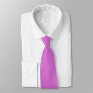 Corbatas Personalizadas Lazo del color de la orquídea