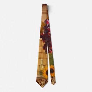 Corbatas Personalizadas Lazo del tema del viñedo o del vino
