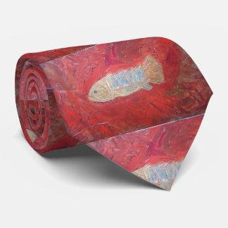 Corbatas Personalizadas Lazo fósil de los pescados