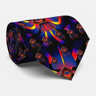Corbatas Personalizadas Lazo negro de la orquídea de Belice