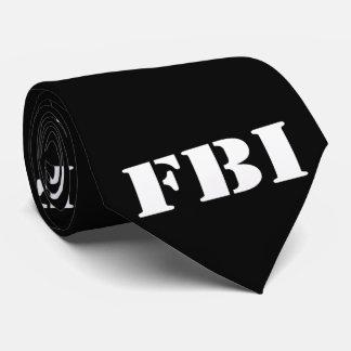 Corbatas Personalizadas Lazo negro del FBI