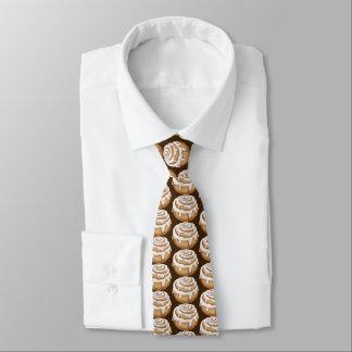 Corbatas Personalizadas Lazo tejado panadería helado del bollo de canela
