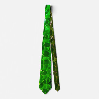 Corbatas Personalizadas Lazo verde suculento verde de la hoja