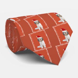 Corbatas Personalizadas Llaso Apso con el gorra