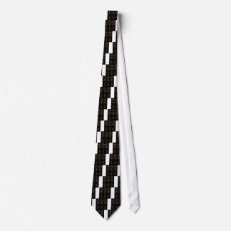 Corbatas Personalizadas Mandalas populares de lujo en negro