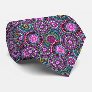 Corbatas Personalizadas Modelo bohemio brillante de la moda del hippy de