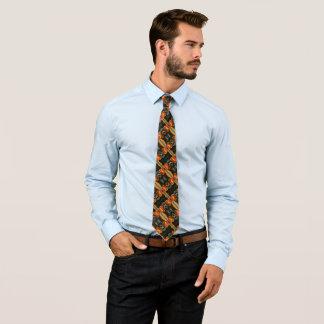 Corbatas Personalizadas Modelo con clase del satén del Rockabilly del