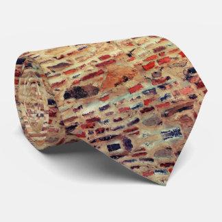 Corbatas Personalizadas Modelo de la pared de ladrillo
