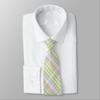 Corbatas Personalizadas Modelo diagonal en colores pastel colorido de la