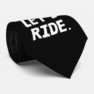 Corbatas Personalizadas Montemos el humor del ciclista de la ciudad y de