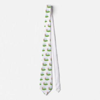 Corbatas Personalizadas ovejas blancas y shaun las ovejas