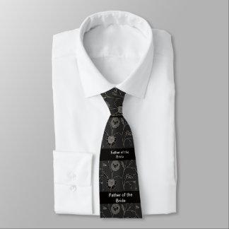 Corbatas Personalizadas Padre de la novia, casando el lazo