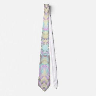 Corbatas Personalizadas Pastel en la mandala concreta de la calle