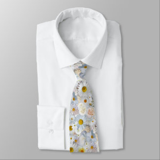 Corbatas Personalizadas Primavera nupcial del boda floral del ramo de las