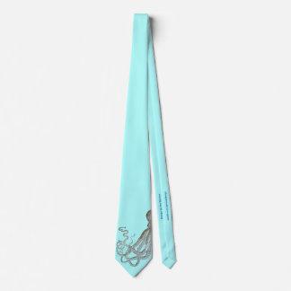 Corbatas Personalizadas Pulpo