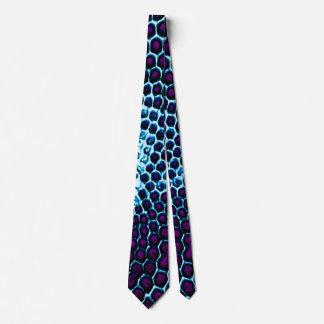 Corbatas Personalizadas Púrpura azul observada insecto del panal