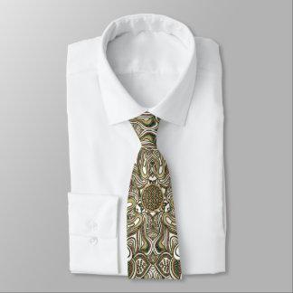 Corbatas Personalizadas Raya céltica del animal de la mandala del nudo