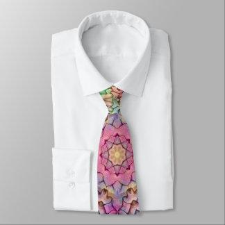Corbatas Personalizadas Techno colorea el lazo del caleidoscopio del