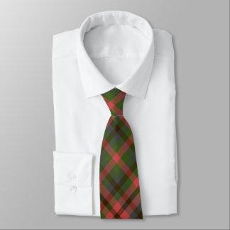 Corbatas Personalizadas Tela escocesa verde del melón