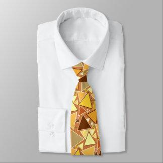 Corbatas Personalizadas Triángulos modernos de los mediados de siglo,